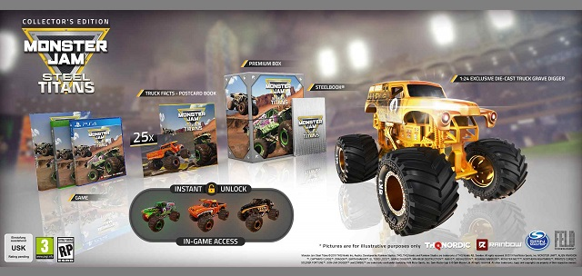 Monster Jam Steel Titans announced