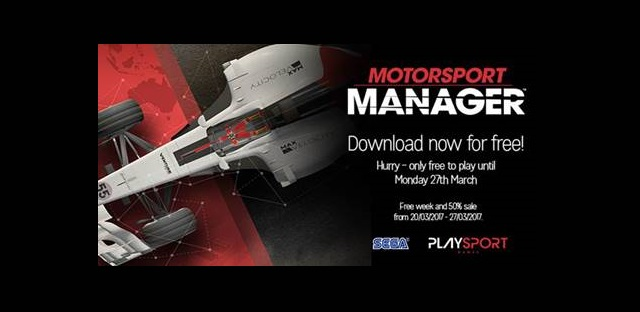 Play Motorsport Manager free this week news image