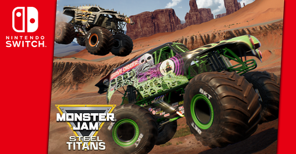 Monster Jam Steel Titans rolls onto Switch