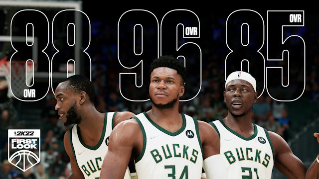 First NBA 2K22 player ratings revealed