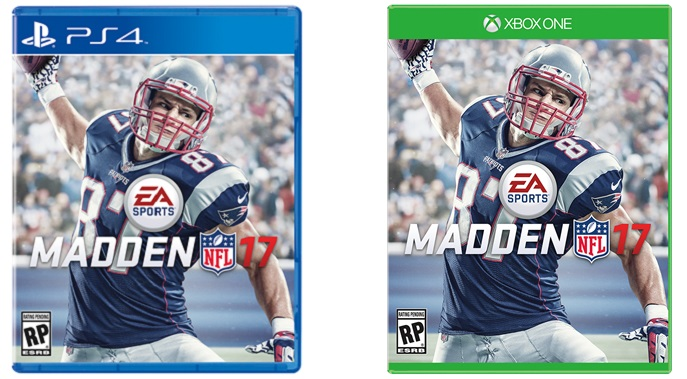 Gronk pegged as Madden NFL 17 cover athlete