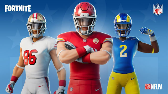 Fortnite joins the NFL