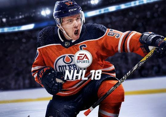 NHL 18 unveils cover athlete news image