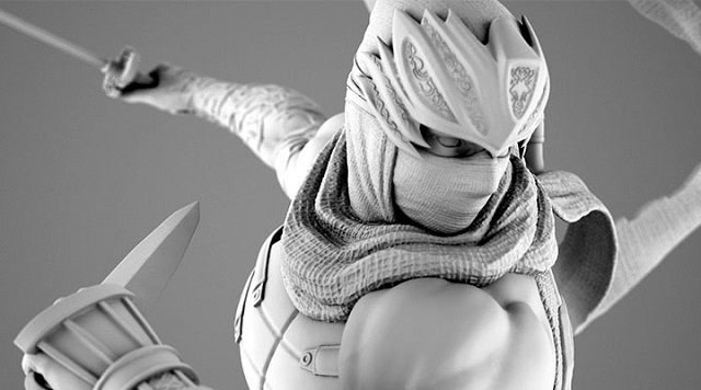 Ninja Gaiden Ryu Hayabusa statue coming in June