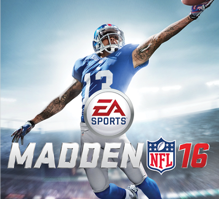 Madden NFL 16 has its cover athlete