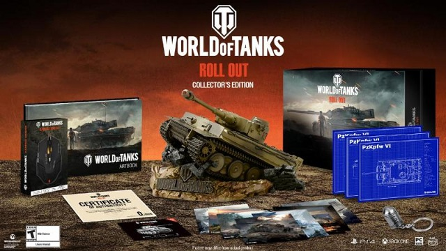 World of Tanks launching Collector's Edition