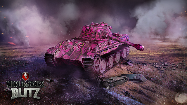 World of Tanks Blitz celebrates Pink Panther Day with a pink Panther