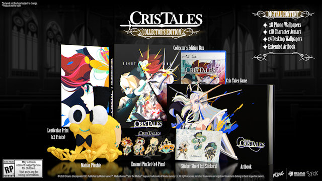 Cris Tales Collector's Edition revealed