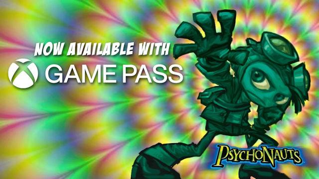 Psychonauts comes to Xbox Game Pass