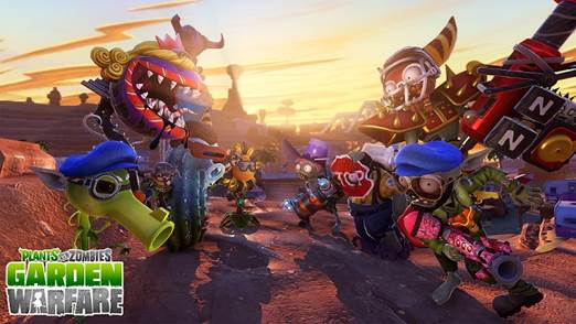 Plants vs. Zombies: Garden Warfare gets PlayStation release date