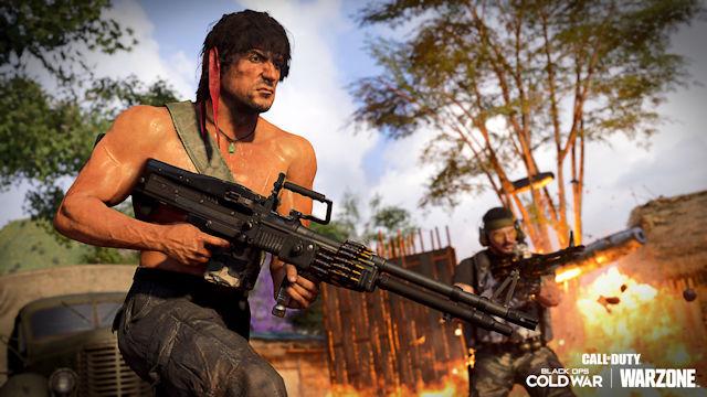 Rambo and John McClane joining Call of Duty