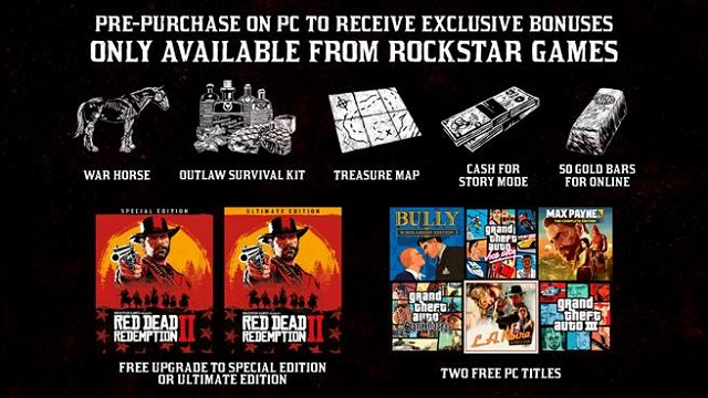 Red Dead Redemption 2 available for pre-purchase