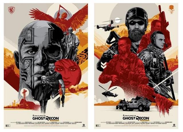 Ken Taylor designs Ghost Recon Wildlands limited edition prints