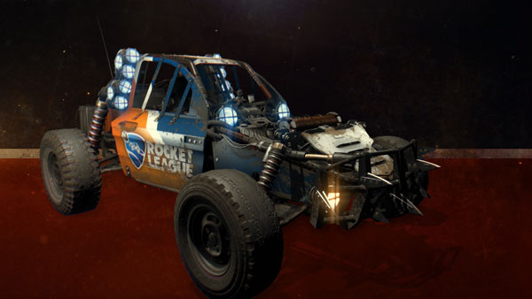 Rocket League and Dying Light crossover into a mash-up