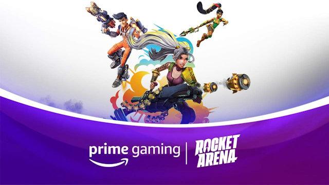 Prime Gaming giving Rocket Arena away for free