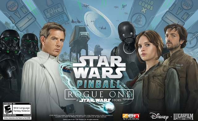 Zen Studios announces Star Wars Pinball: Rogue One table