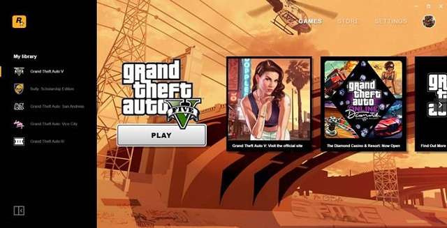 Rockstar Games launches PC game launcher