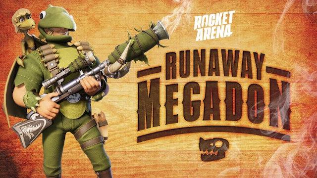 Rocket Arena has a Runaway Megadon