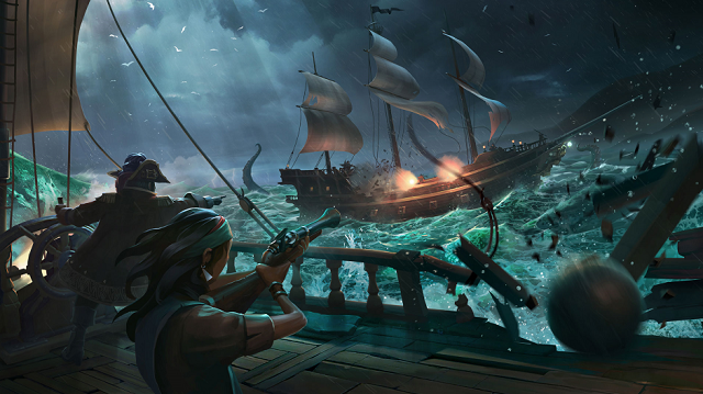 Sea of Thieves launches scale test