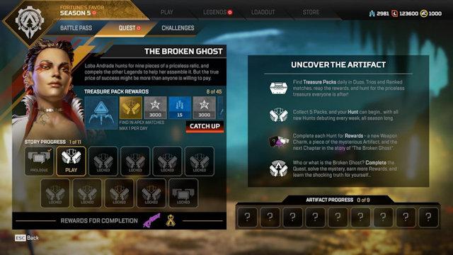 Apex Legends launches Broken Ghost Quest