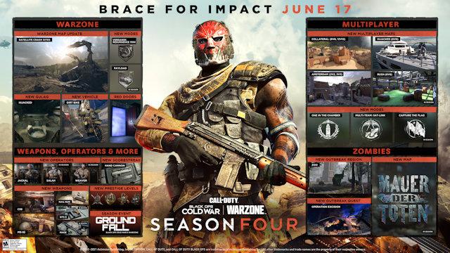 Black Ops Cold War reveals Season Four roadmap