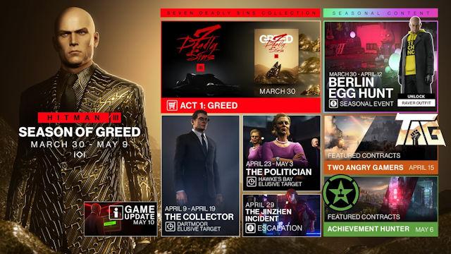 HITMAN 3 releases Season of Greed roadmap