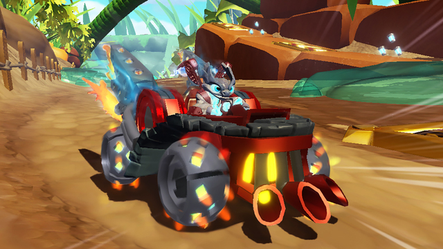 Skylanders SuperChargers race onto iOS