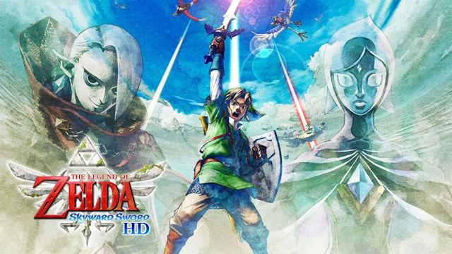 Nintendo reveals The Legend of Zelda: Skyward Sword HD improvements