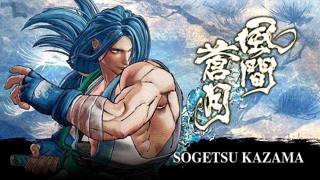 Sogetsu Kazama joins Samurai Shodown