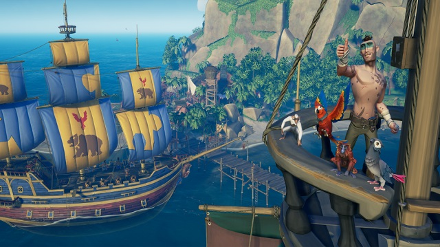 Sea of Thieves finds Smuggler's Fortune