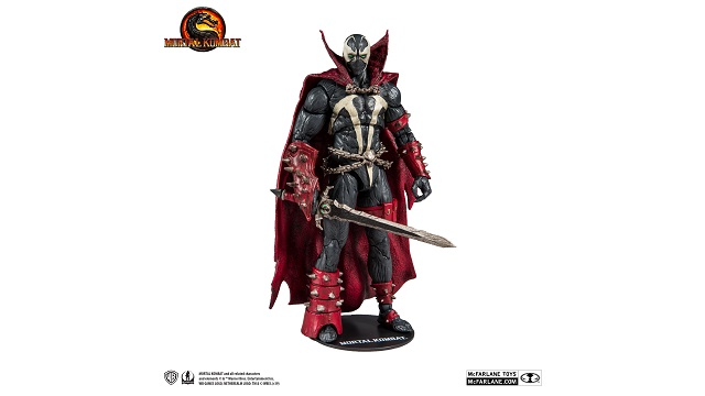 SPAWN Mortal Kombat 11 action figure revealed