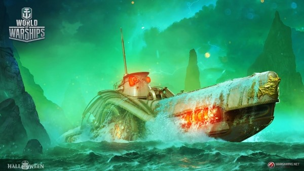 Subs will prowl the waters of World of Warships this Halloween