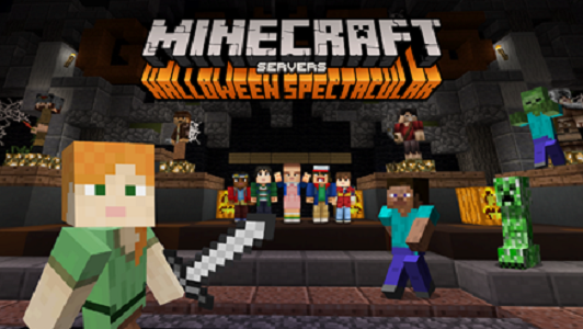 Minecraft launches Halloween Server Spooktakular