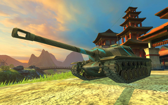 Steam gets blitzed by World of Tanks
