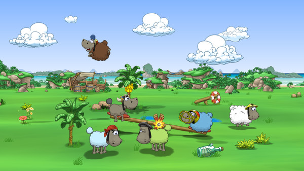 Clouds & Sheep 2 flocks onto Steam