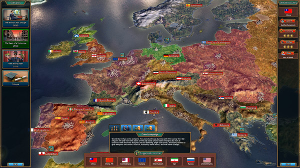 Realpolitiks will have you leading the world in February