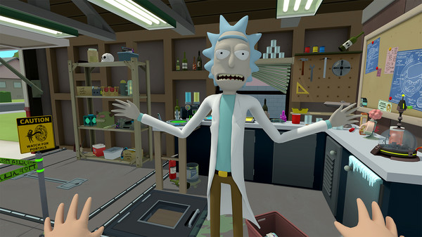 Rick and Morty coming to PSVR