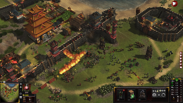 Stronghold: Warlords lays siege