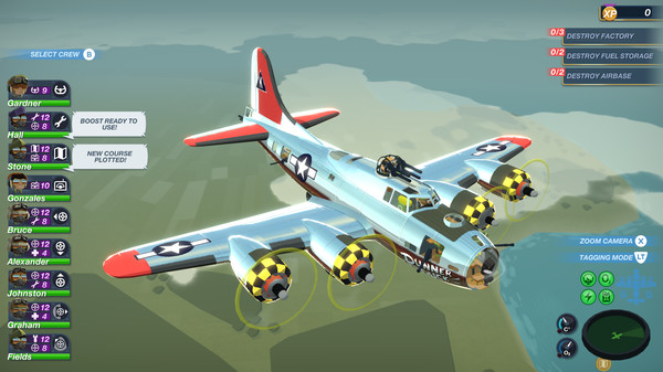 Bomber Crew recruiting USAAF
