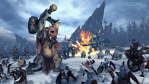 Norsca coming to Total War: Warhammer and will be playable in Warhammer II
