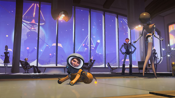Headlander lands on PS4 and PC