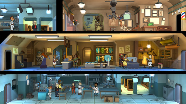 Fallout Shelter digs into Steam