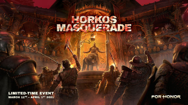 The Masquerade has begun in For Honor