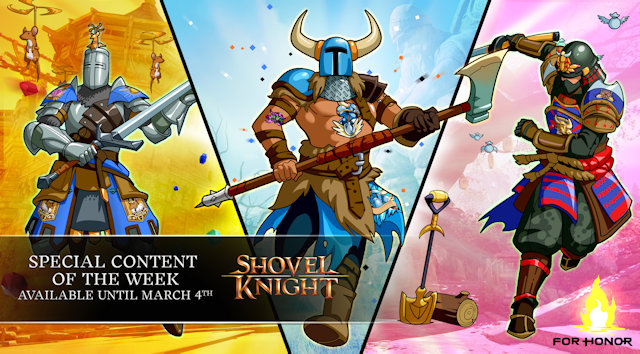 For Honor celebrates fourth anniversary with the Shovel Knight