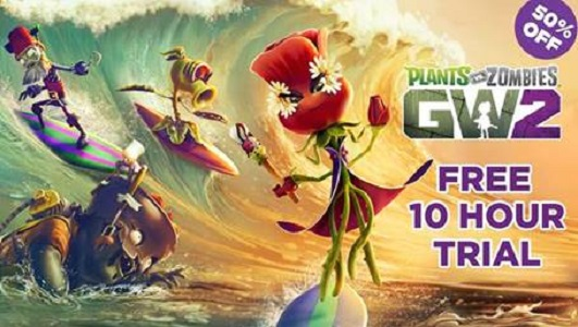 Play Plants vs. Zombies Garden Warfare 2 for free this month