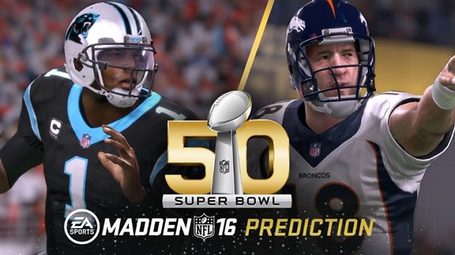 Madden NFL 16 predicts Super Bowl 50 champs