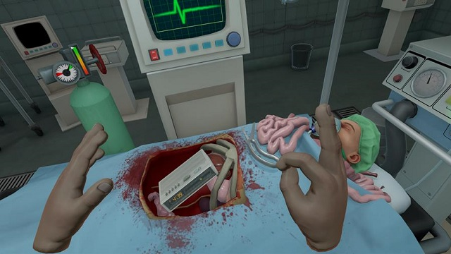 Surgeon Simulator now cutting it up in VR on PlayStation
