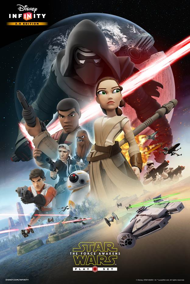 Star Wars: The Force Awakens Play Set for Disney Infinity 3.0 available on Friday
