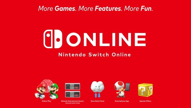 Nintendo Switch Online service launched