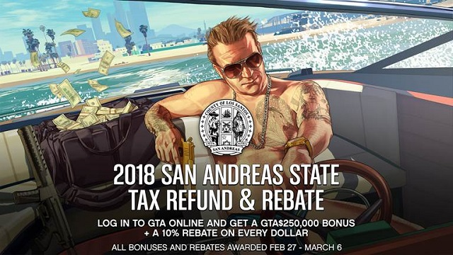 Get your San Andreas tax refund